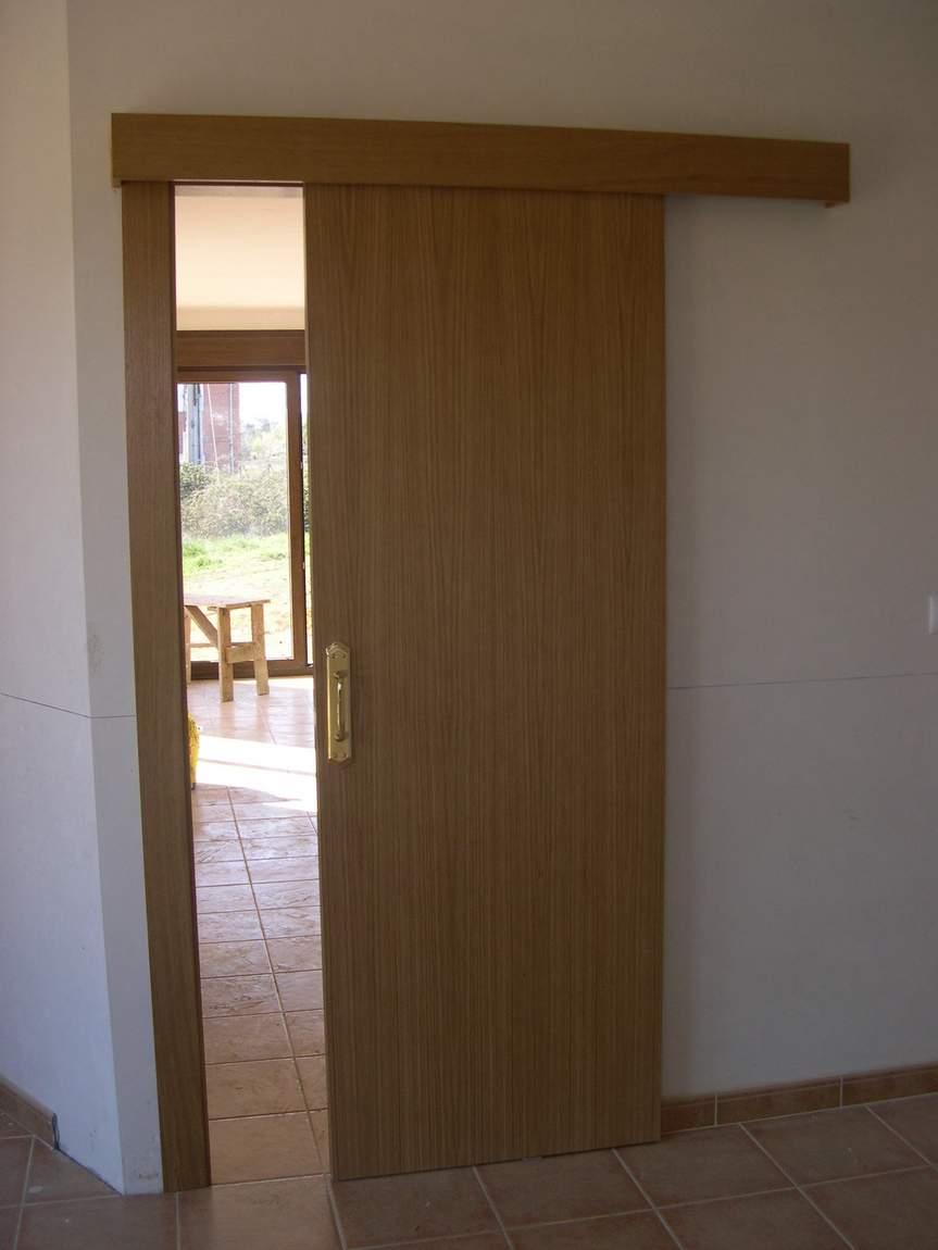 Puertas videco puertas correderas p interior - Puerta corredera interior ...