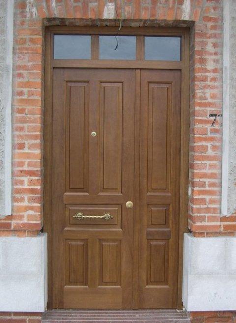 Puertas Videco - P. Entrada Maciza Mod. Nº 4 - Puertas Videco
