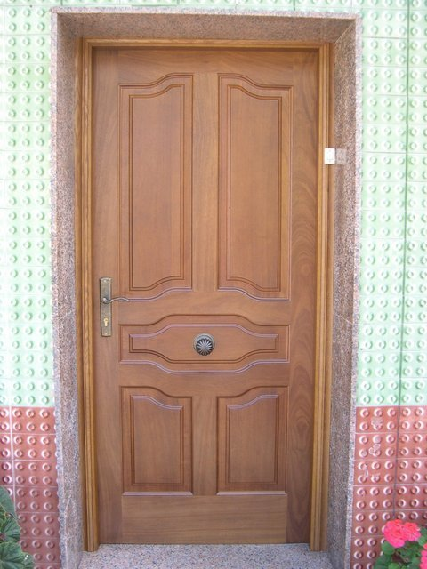 Puertas Videco - P. Entrada Maciza Mod. Nº 5 - Puertas Videco