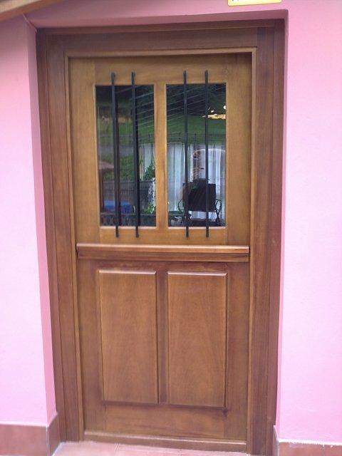 Puertas Videco - P. Entrada Cuarteron Mod. Nº 1 - Puertas Videco