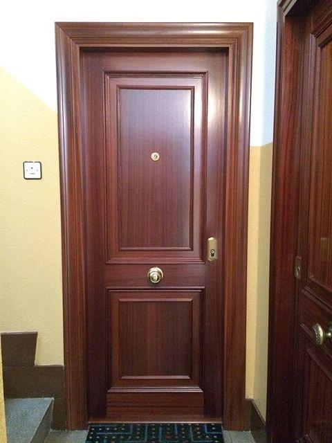 Puertas Videco - P. Acorazada Mod. 4 Cuadros - Puertas Videco